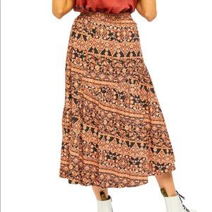 Free People All About Tiers Skirt Size Medium NEW